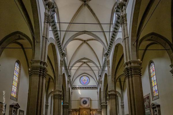 l'intérieur de la Cathédrale de Santa Maria del Fiore