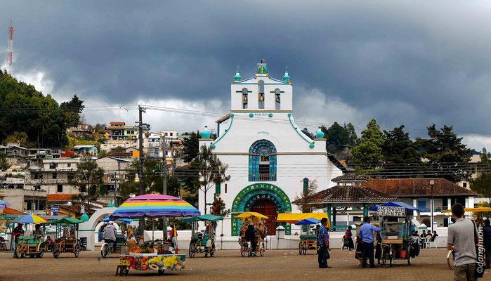 Temple à San Juan de Chamula