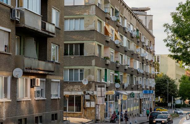 Gabrovo - Immeubles des années 60, inhabitables dans les 20 ans qui viennent