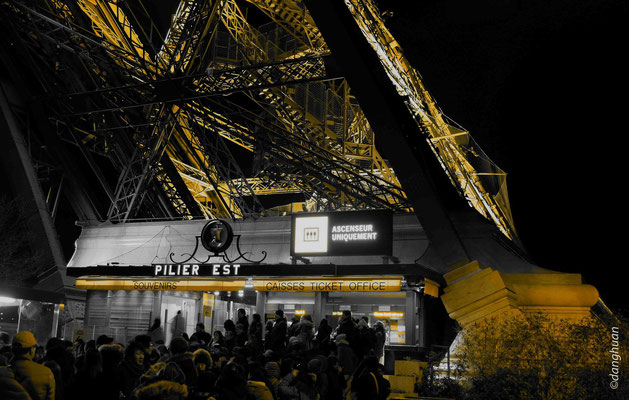 Pilier EST - Tour Eiffel (Paris)