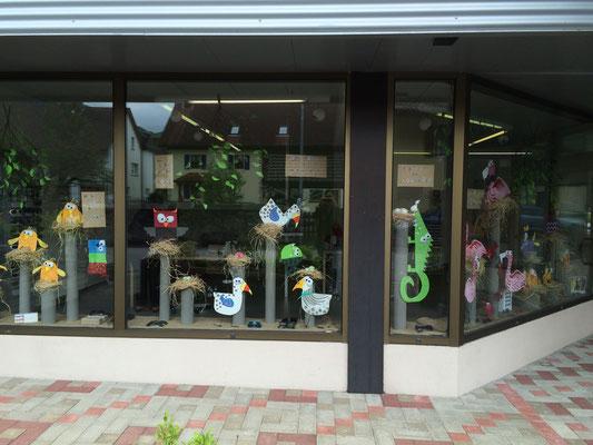 Déco vitrines printemps inspirée par Buttuglee