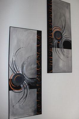 Cadre acrylique/commande spéciale