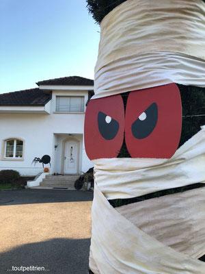 Décoration Halloween, les momies. www.toutpetitrien.ch - fleurysylvie