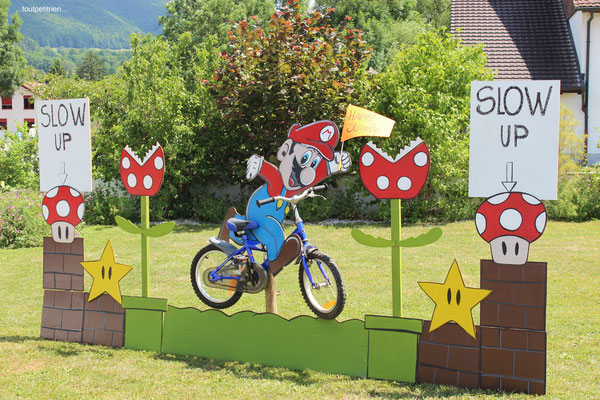 slowUp 2017 Super Mario ! www.toutpetitrien.ch