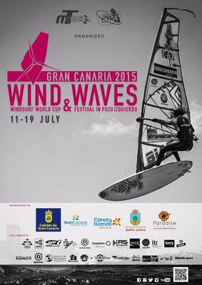 Der erste Wave Torstopp der PWA in 2015 - Pozo!!!