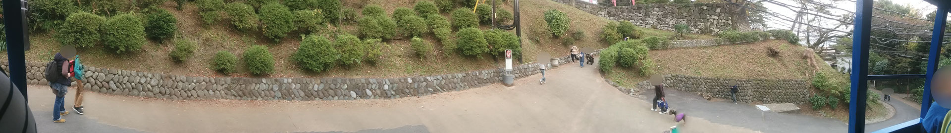 5 At Odawara castle