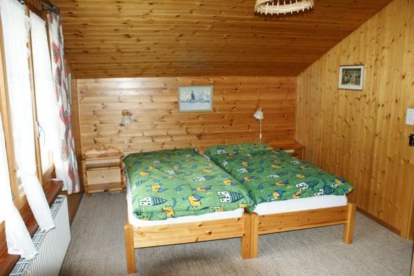 Schlafzimmer im 2. Stock
