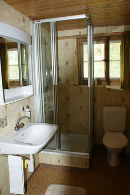 Bathroom with shower (on first floor)
