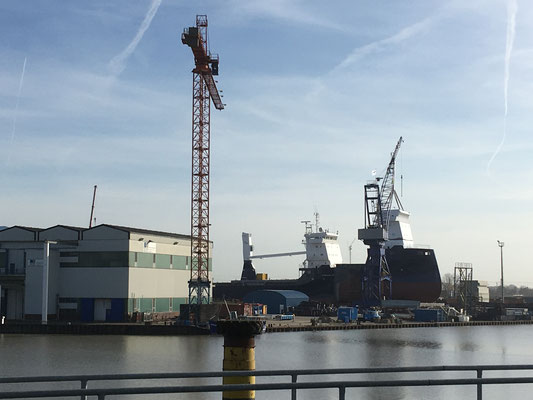 Am Leeraner Hafen