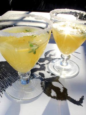 Ingwer-Zitronen-Aperitiv