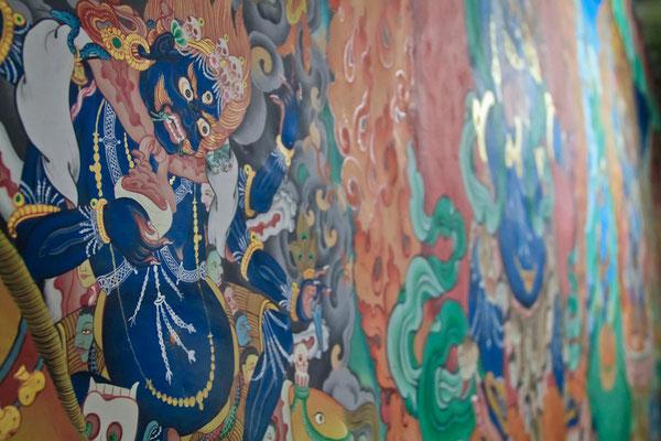 Wandmalerei Kloster Spituk