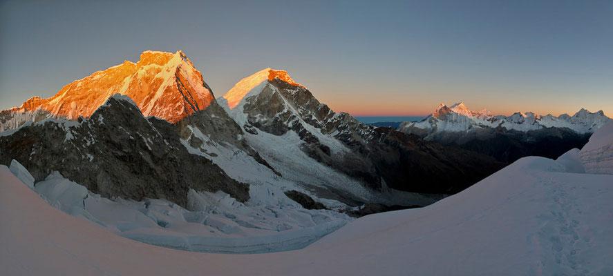 Nevado Huascaran im Morgenlicht