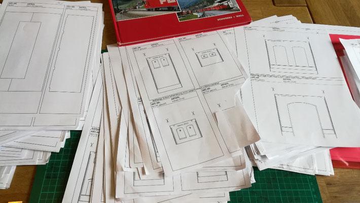 Auhagen BKS (Baukaszensystem) - hunderte Seiten mit Kopiervorlagen