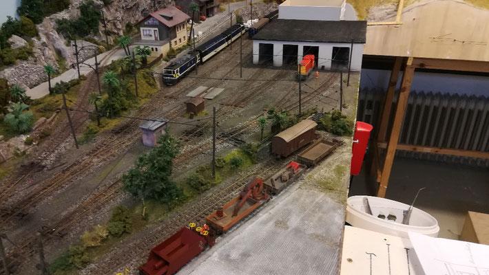 Übersichtsbild: Depot- und Abstellanlage