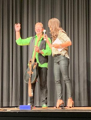 Fredy Schär und Kiki Maeder