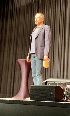 Michel Gammenthaler an der Bülacher Comedy Night