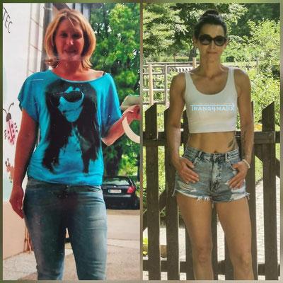 Michaela Diexer zeigt uns das man im Alter von 46 top fit und total fesch sein kann. Sie trainiert und ernährt sich natürlich nach dem Trans4matix Konzepts und ihre lieblings Produkte sind die T4X Shape Drops und das M.I.N.T.U Beauty