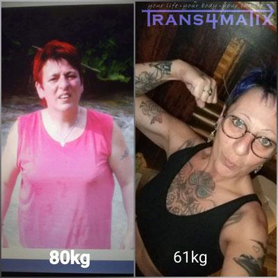 Wieder eine erfolgreiche Kundin! Dani Haller hat es durch das T4X Trainings & Ernährungskonzept geschafft ihrer Figur den letzten Schliff zu geben! Sehr schöne Verwandlung wir sind stolz!