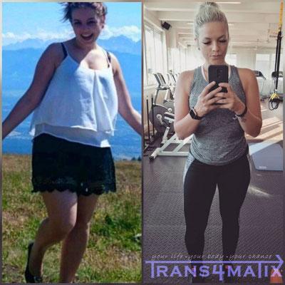 Durch die Hilfe von Trans4matix ist auch Katrin Trink in 8 Monaten eine sehr schöne Verwandlung gelungen! Gute Leistung Katrin! Willst auch du das Beste aus dir rausholen dann melde dich jetzt!