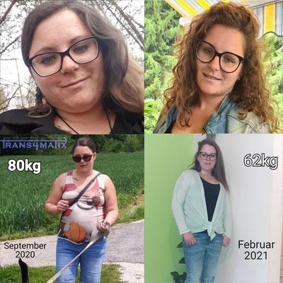 Bernadette Mehsnarz hat durch das T4X Trainings & Ernährungskonzept ihre Ernährung nun bestens im Griff und ihre Freude an Bewegung gefunden. Wir gratulieren ihr zu ihrer tollen Leistung und sind stolz, ein großer Teil davon zu sein.