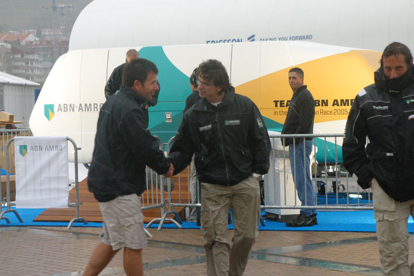 Mike Sanderson en Marc-Antony Taminiau (Portugal, 2006)