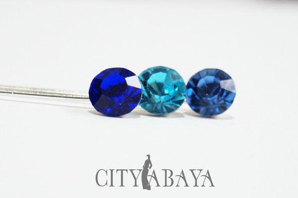 Royalblau-Babyblau-Jeansblau