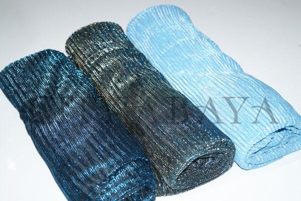 Petrol-Blau/Grau-Babyblau