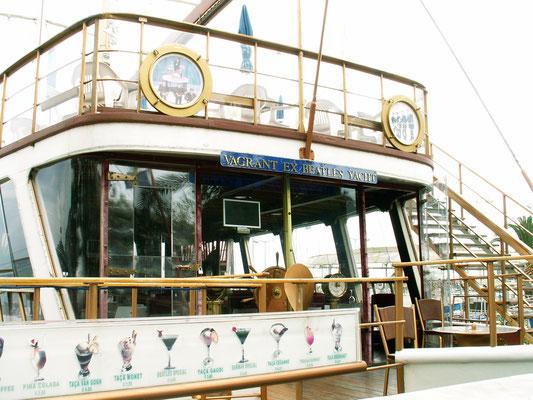 """""""Beatles-Yacht"""" im Hafen von Funchal - Madeira"""