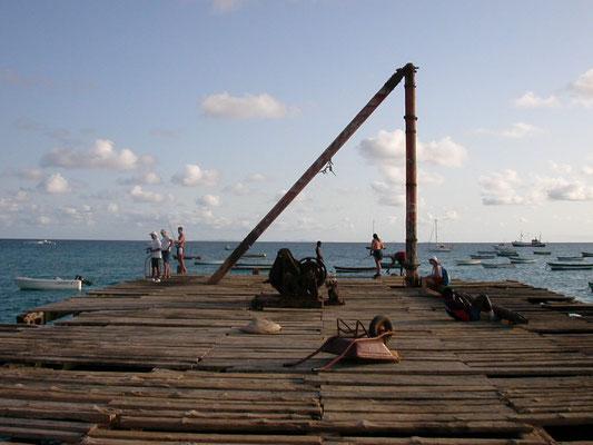 """""""Der Steg"""" in Santa Maria - Insel Sal, Kapverden"""