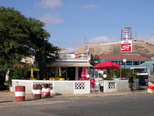 """Café """"Bom Dia"""", Espargos - Insel Sal, Kapverden"""