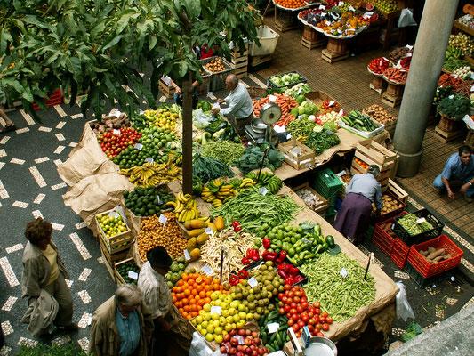 Bauernmarkt in Funchal - Madeira
