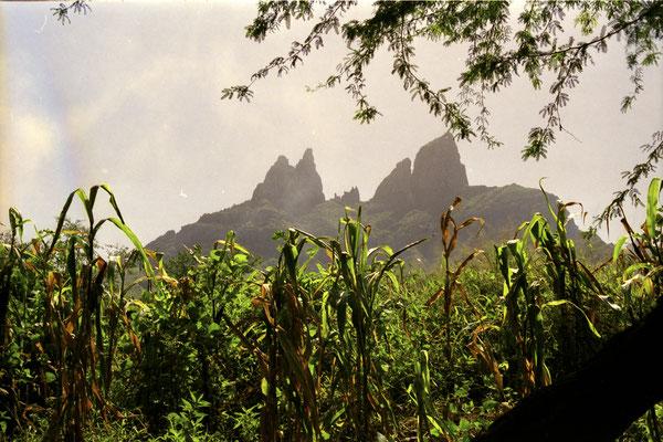 Berge im Inland - Insel Santiago, Kapverden