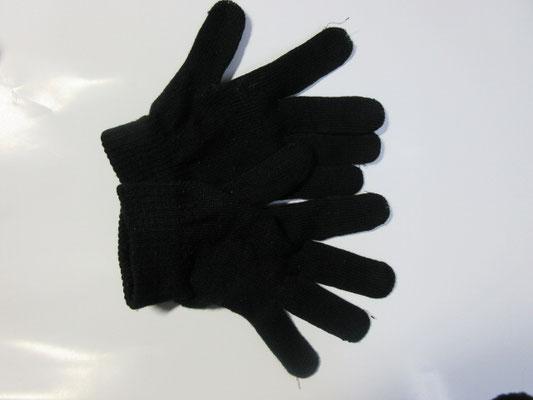 ②黒い手袋