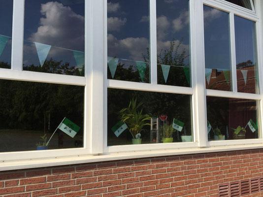 Blick in die DGH-Fenster