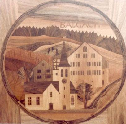 Balgach ref. Kirche und altes Rathaus