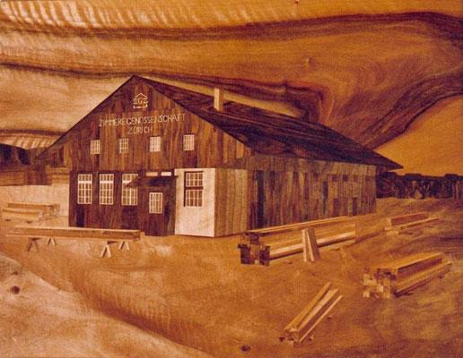 Zimmerei Werkstatt