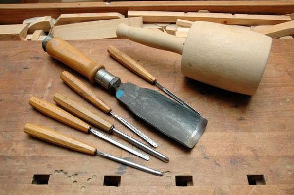 Selbstgemachte Werkzeuge