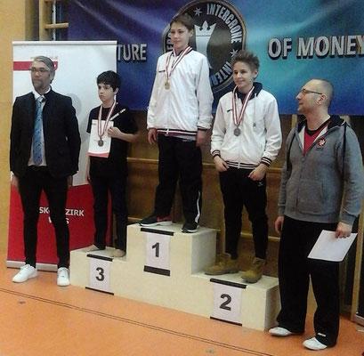 Kickboxing 4 L&M Battle of Austria Kickboxen Wettkampf Wiener Neustadt Lukas Ladinger