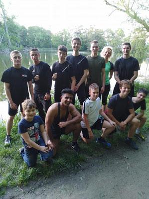 Kickboxen, Wiener Neustadt, Kickboxing 4 L&M, Training, Outdoortraining, Wettkampf