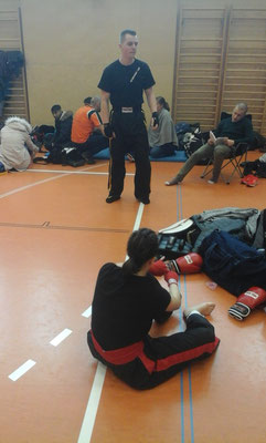 Kickboxing 4 L&M Battle of Austria Kickboxen Wettkampf Wiener Neustadt