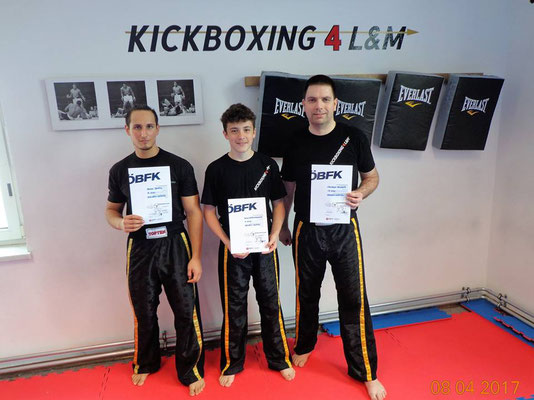 Kickboxen Wettkampf Wiener Neustadt Kickboxing 4 L&M Gürtelprüfung