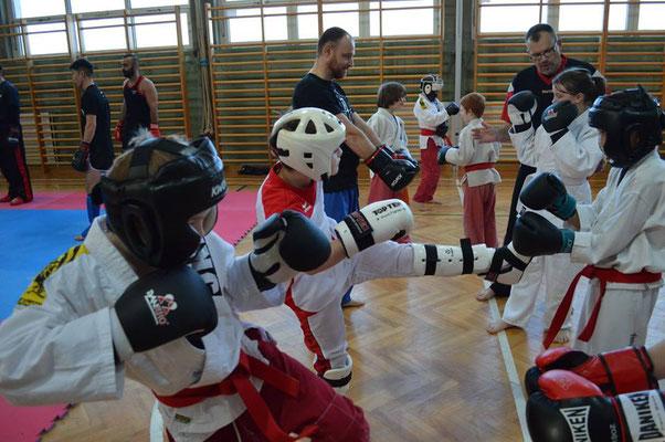 1. NÖ-Training 2017 Kickboxing 4 L&M NÖ LFV Kickboxen