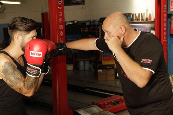 Fotoshooting Kickboxing 4 L&M Wiener Neustadt Kampfsport Kickboxen