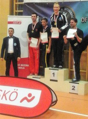 Kickboxing 4 L&M Battle of Austria Kickboxen Wettkampf Wiener Neustadt Daniel Bartl