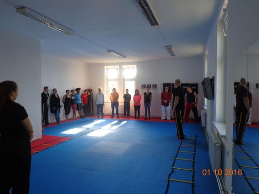 Eröffnung Kickboxing 4 L&M Wiener Neustadt Kampfsport Kickboxen