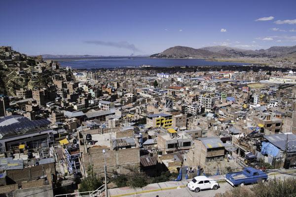 Einfahrt nach Puno