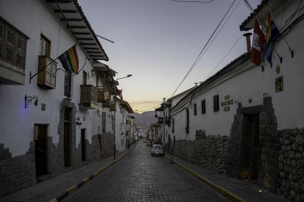 Strasse in der Altstadt Cuscos