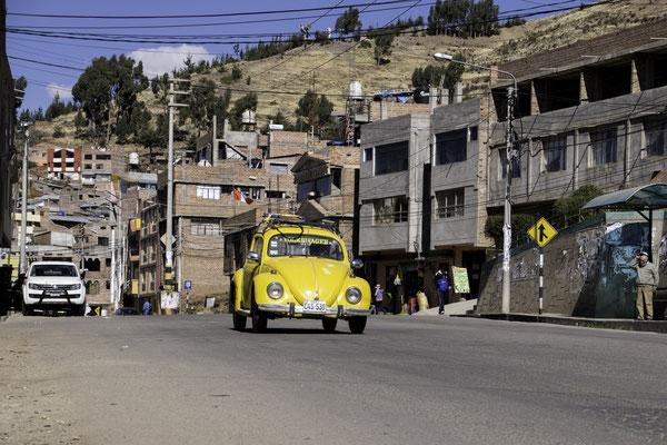 VW-Käfer sind in Peru keine Rarität