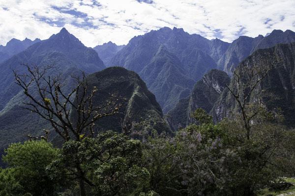 Die Inkas auf dem Machu Picchu hatten eine schöne Aussicht