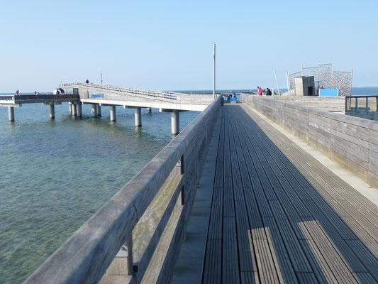 Im Zick-Zack über die Ostsee.